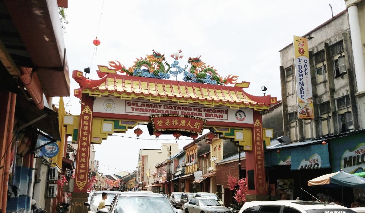 中華街の入り口